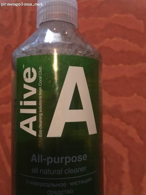 Отзыв на Alive A Универсальное чистящее средство