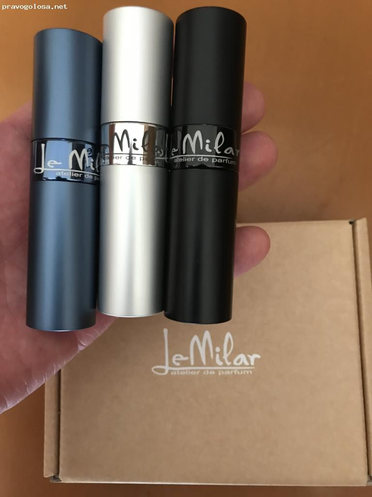 Отзыв на LeMilar atelier de parfum