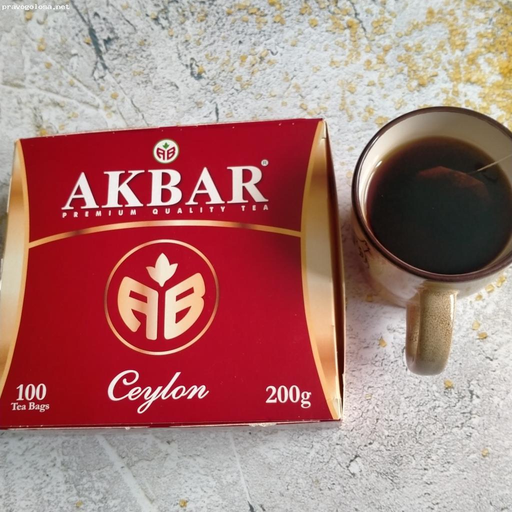 Отзыв на Чай Akbar Сeylon АВ черный байховый цейлонский мелкий (пакетированный)