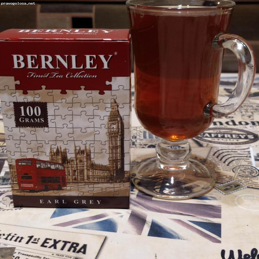 Отзыв на Bernley Earl Grey чай черный листовой