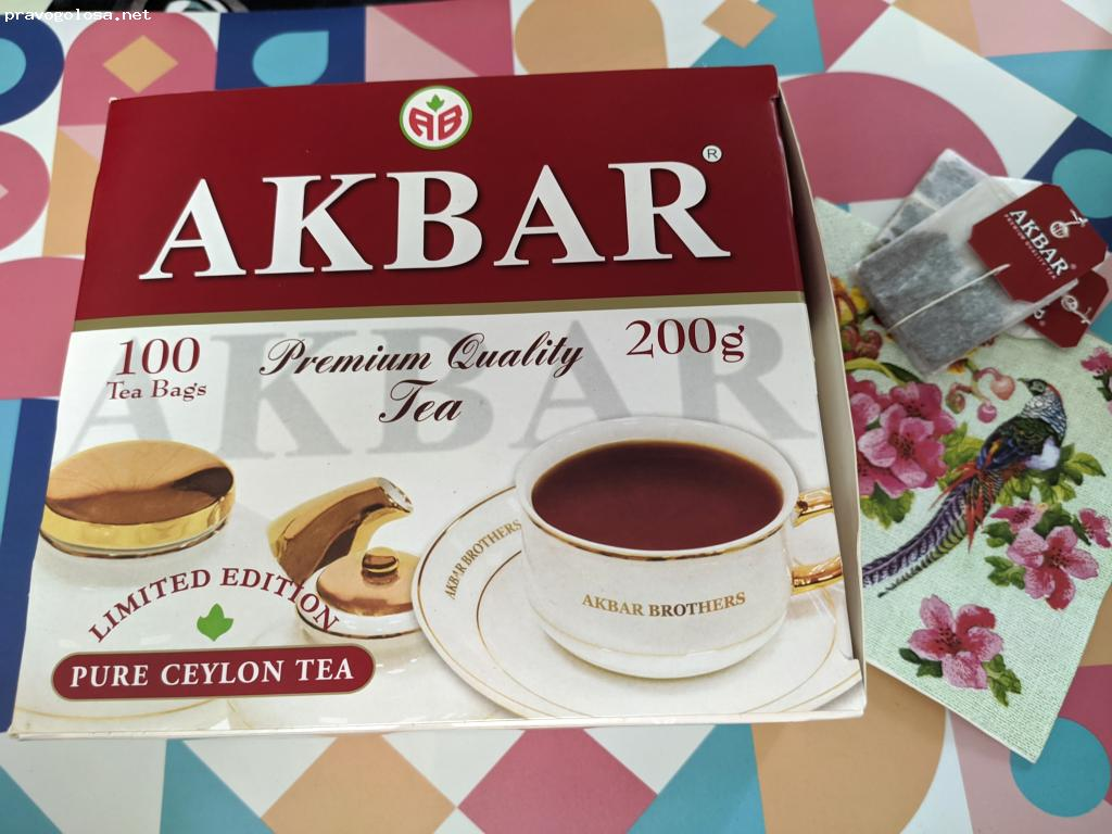 Отзыв на Akbar Limited Edition 100 пак
