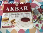 Чай черный Akbar Limited Edition 100 пак отзывы