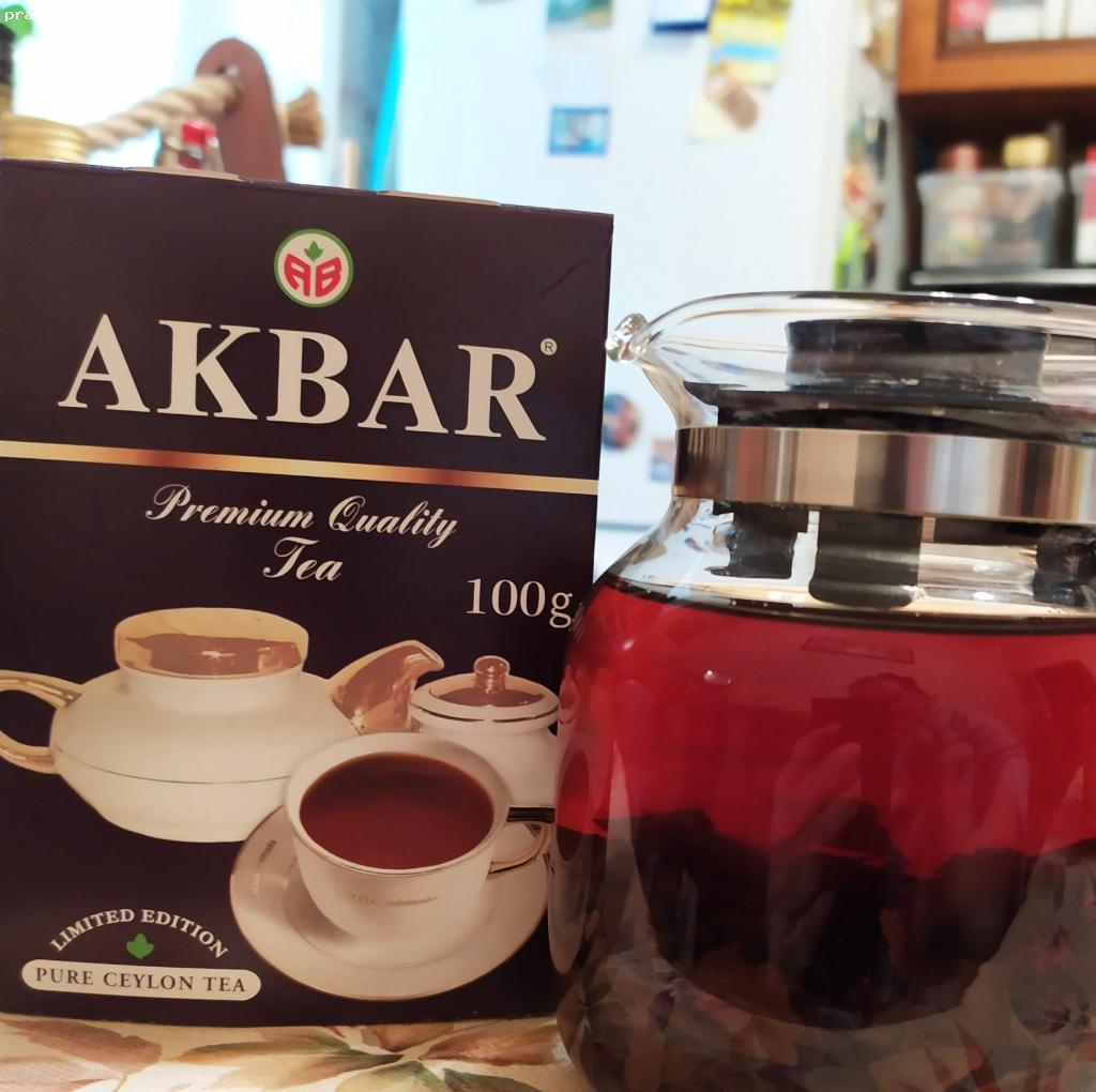 Отзыв на Чай Akbar Limited Edition черный  байховый цейлонский Крупнолистовой