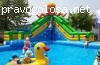 Батут с бассейном Король осьминогов от БатутМастер отзывы