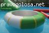 Надувной водный Батут Веселое колесо