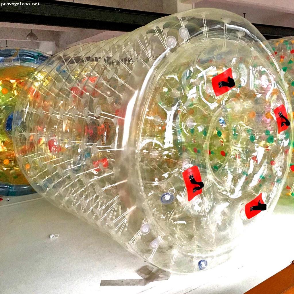 Отзыв на Прозрачный водный роллер из ТПУ от БатутМастер