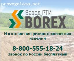 Отзыв на Завод РТИ «Борекс»