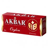 Чай Akbar Сeylon АВ черный байховый цейлонский мелкий (пакетированный)